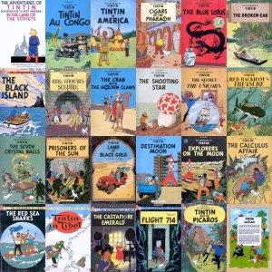 tintin-books