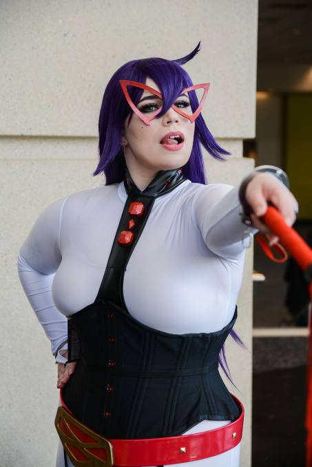 Photo of Midnight cosplay by Nerdily from C2E2.